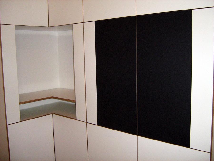 Interieur-Design moderner Küchenschrank - kinoka